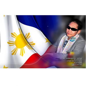 Doc Penpen Bugtong Takipsilim – Founder & Creator of PENTASI B WORLD FRIENDSHIP POETRY – Representing the Philippines