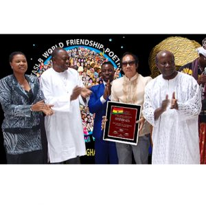 Doc Penpen honored as Anyuinsem Agya by the Republic of Ghana
