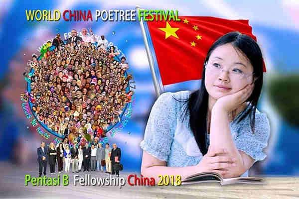 CHINA WORLD POETREE FESTIVAL2018  PENTASI B World Fellowship, MainlandChina, 2018
