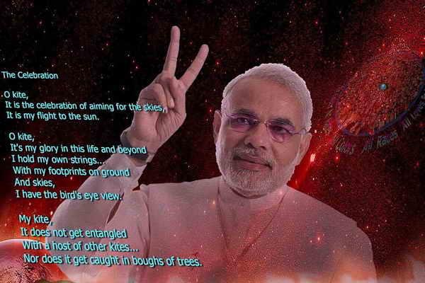 Sophy Translation E-C [Southeast Asia (India) ] Prime Minister, Hon. Narendra Modi 1 Poem , Asia Poets Poetry Series